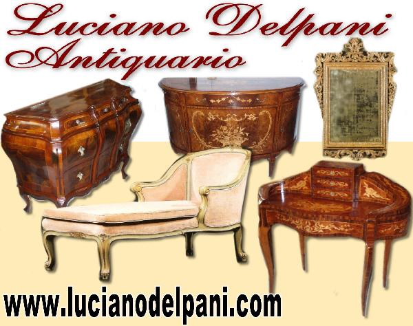 Luciano Delpani - Antiquariato Via Cacciamali 63 Brescia - Mobili ...
